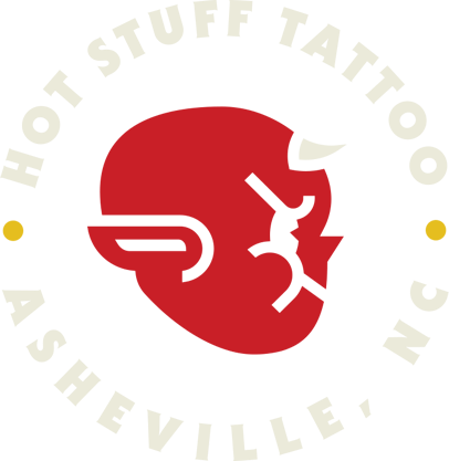 Hot Stuff Tattoo Logo